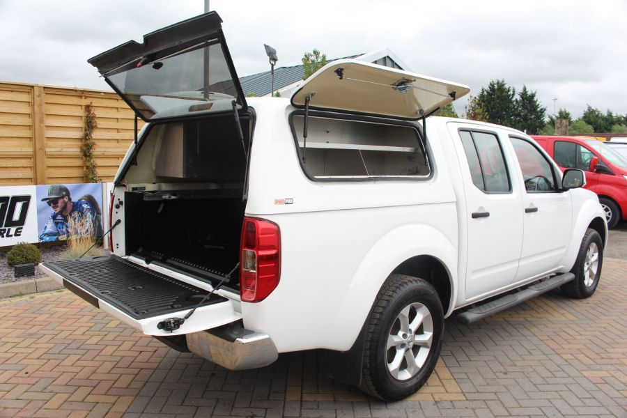 NISSAN NAVARA DCI ACENTA 4X4 DOUBLE CAB WITH TRUCKMAN TOP - 6447 - 24