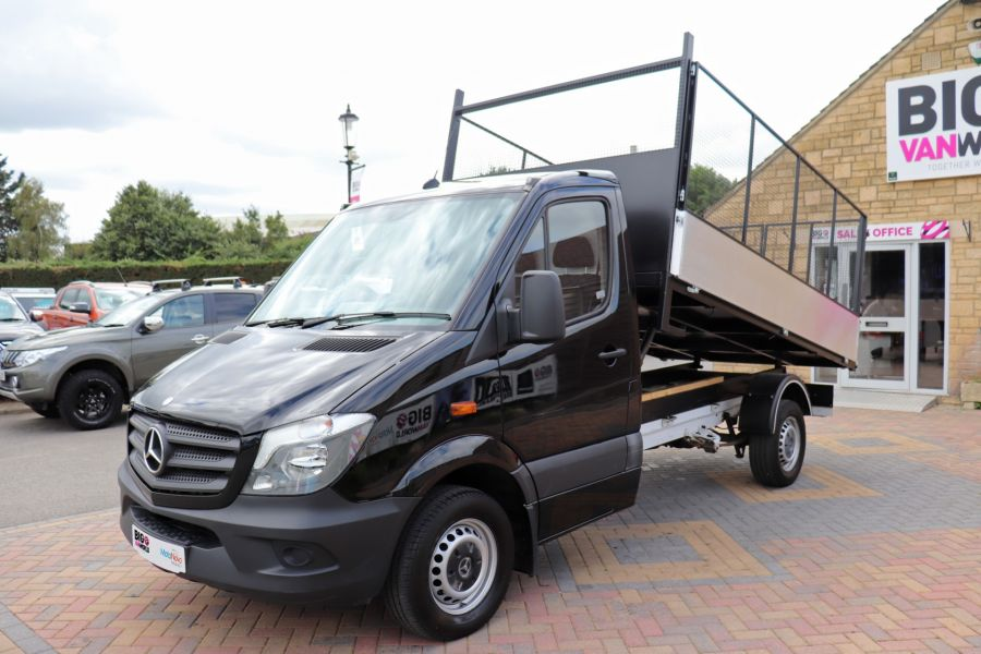MERCEDES SPRINTER 313 CDI 129 MWD SINGLE CAB NEW BUILD ALLOY CAGED TIPPER - 10235 - 17