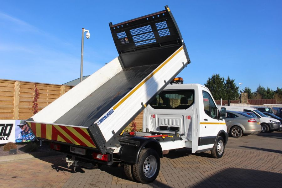 FORD TRANSIT 350 TDCI 125 SINGLE CAB 'ONE STOP' ALLOY TIPPER DRW - 7213 - 5