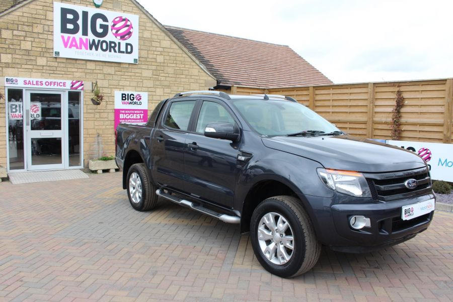 FORD RANGER WILDTRAK 4X4 TDCI 197 BHP DOUBLE CAB WITH MOUNTAIN TOP - 6601 - 2