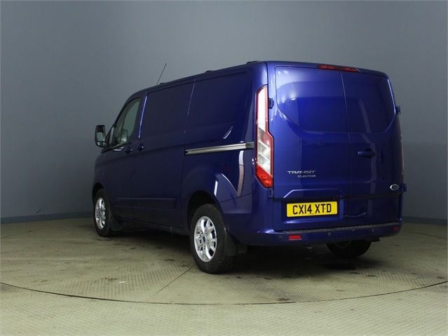 FORD TRANSIT CUSTOM 270 TDCI 155 LIMITED L1 H1 SWB LOW ROOF FWD - 6586 - 4