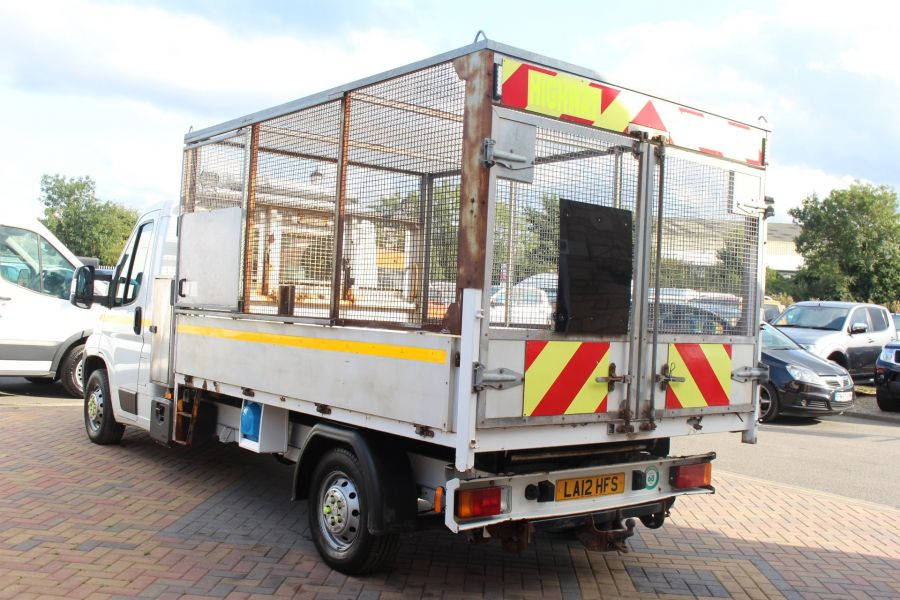 CITROEN RELAY 35 HDI 130 L3 LWB ALLOY TIPPER WITH CAGED - 8122 - 16