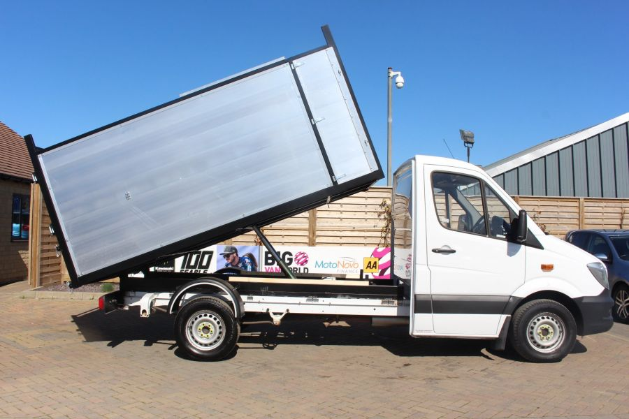 MERCEDES SPRINTER 313 CDI 129 MWB SINGLE CAB NEW BUILD ARBORIST ALLOY TIPPER - 9307 - 4