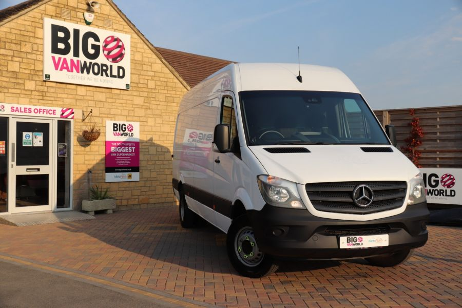 MERCEDES SPRINTER 513 CDI 129 LWB HIGH ROOF DRW - 11183 - 1