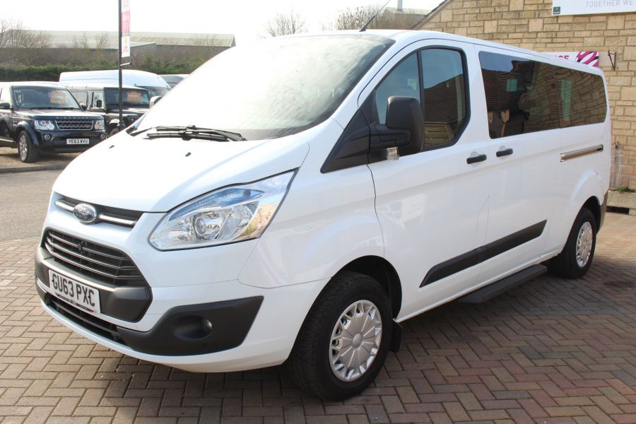 FORD TOURNEO CUSTOM 300 TDCI 125 ZETEC L2 H1 9 SEAT MINIBUS LWB LOW ROOF - 8771 - 8
