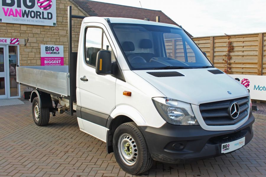 MERCEDES SPRINTER 313 CDI 129 MWB SINGLE CAB NEW BUILD ALLOY TIPPER - 9533 - 10
