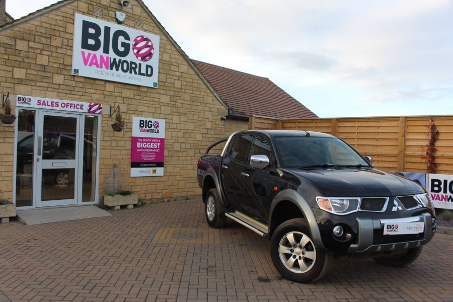 MITSUBISHI L200 ANIMAL DI-D LWB DOUBLE CAB WITH ROLL'N'LOCK TOP - 7085 - 1