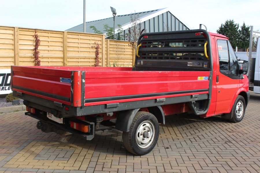 FORD TRANSIT 300 TDCI 110 SWB ALLOY DROPSIDE - 7031 - 5
