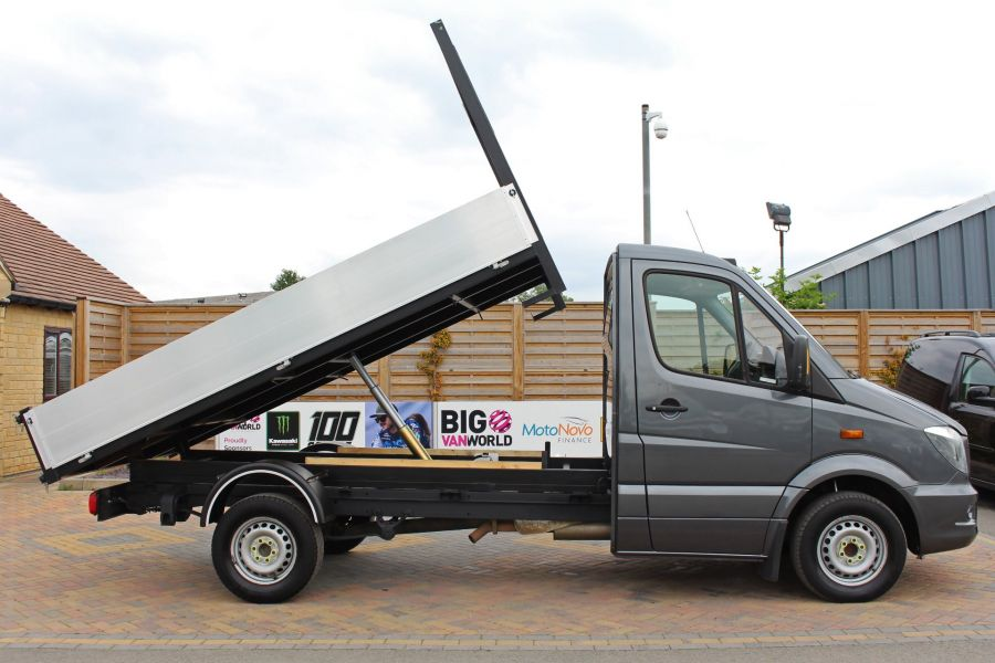 MERCEDES SPRINTER 313 CDI 129 MWB SINGLE CAB NEW BUILD ALLOY TIPPER - 9592 - 4