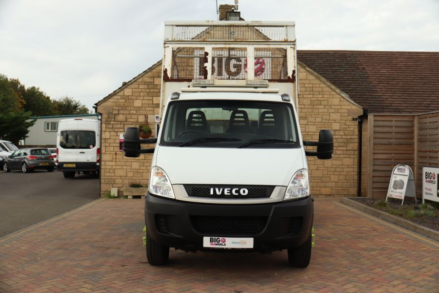 IVECO DAILY 70C18 3450 WB SINGLE CAB ALLOY CAGED TIPPER WITH TAIL LIFT - 9614 - 19