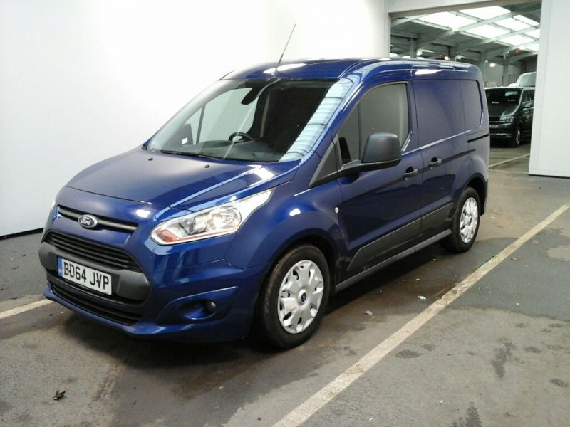 FORD TRANSIT CONNECT 220 TDCI 95 L1 H1 TREND DOUBLE CAB 5 SEAT CREW VAN - 9057 - 1