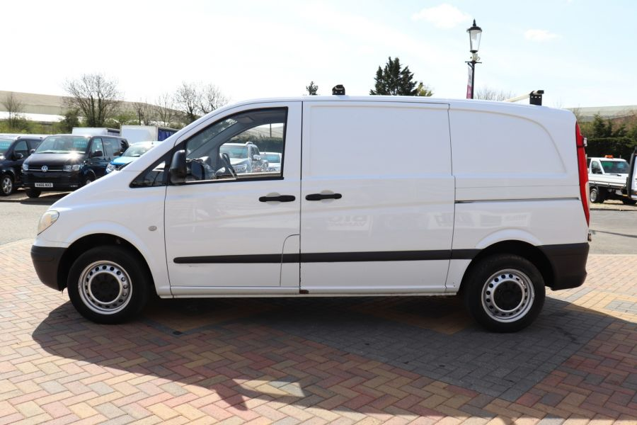 MERCEDES VITO 109 CDI 95 COMPACT SWB LOW ROOF - 10639 - 9