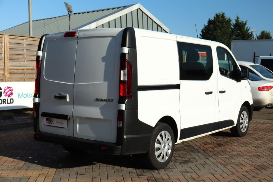 RENAULT TRAFIC SL27 DCI 115 BUSINESS SWB DOUBLE CAB 6 SEAT CREW VAN LOW ROOF  - 10282 - 6