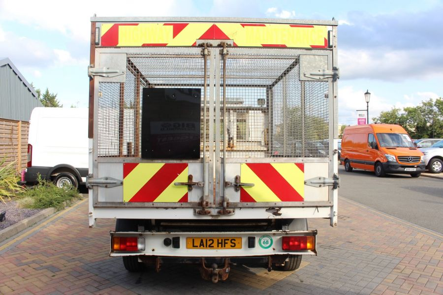 CITROEN RELAY 35 HDI 130 L3 LWB ALLOY TIPPER WITH CAGED - 8122 - 15