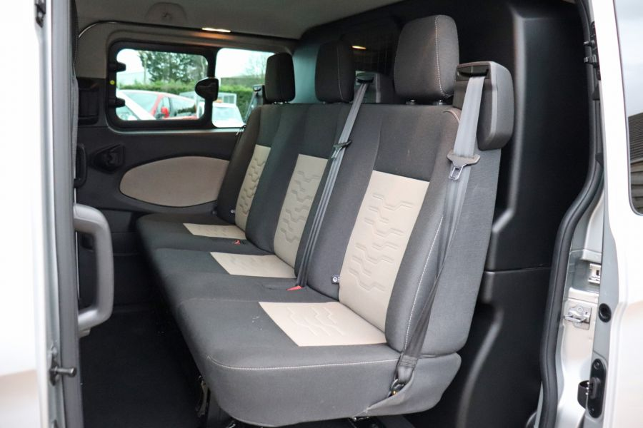FORD TRANSIT CUSTOM 310 TDCI 130 L2H1 LIMITED DOUBLE CAB 6 SEAT CREW VAN  LWB LOW ROOF FWD  - 9968 - 36