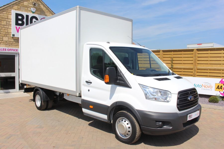 FORD TRANSIT 350 TDCI 125 L4 DRW 'ONE STOP' HIGH CAPACITY LUTON BOX WITH TAIL LIFT - 6135 - 2