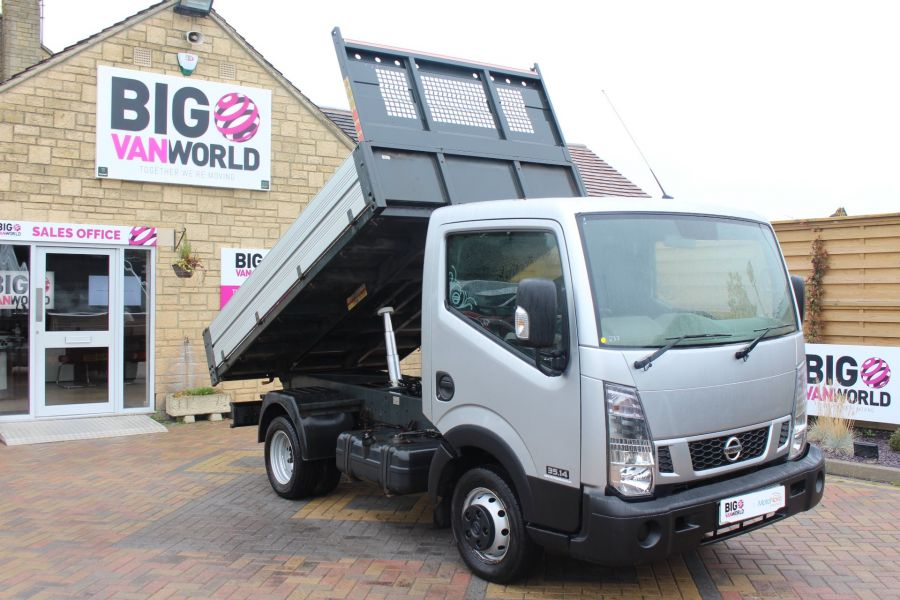 NISSAN NT400 CABSTAR DCI 35.14 SWB ALLOY TIPPER - 6520 - 2