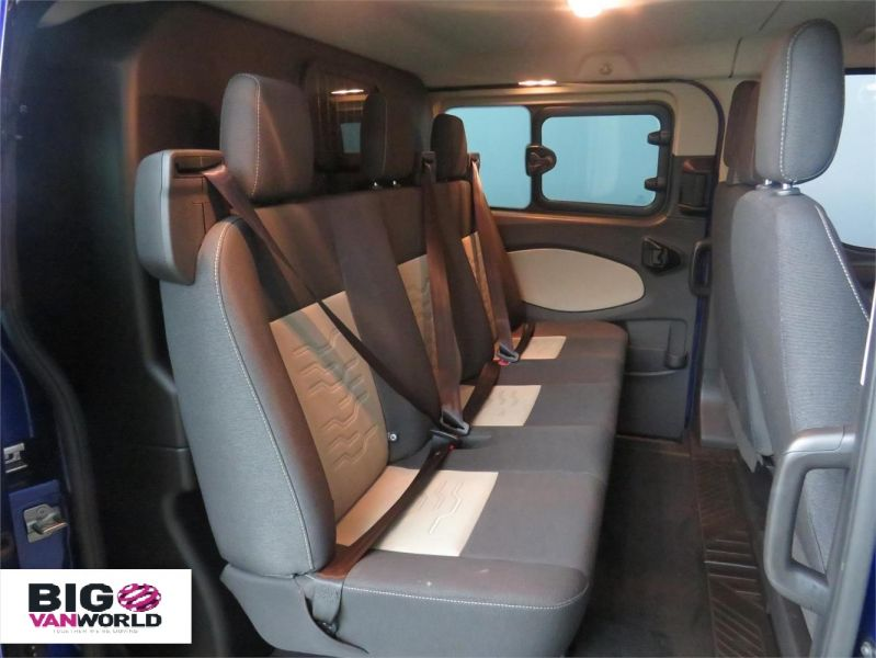 FORD TRANSIT CUSTOM 310 TDCI 170 L2H1 LIMITED DOUBLE CAB 6 SEAT CREW VAN LWB LOW ROOF - 10114 - 15