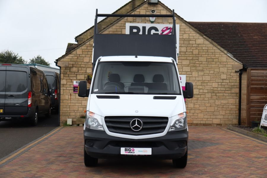 MERCEDES SPRINTER 313 CDI 129 MWB SINGLE CAB NEW BUILD ALLOY CAGED TIPPER - 9685 - 19