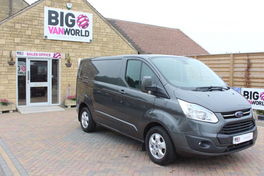 FORD TRANSIT CUSTOM 270 TDCI 125 L1 H1 LIMITED SWB LOW ROOF FWD - 7818 - 3
