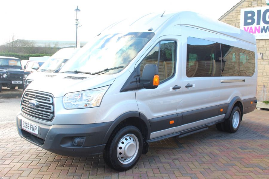 FORD TRANSIT 460 TDCI 155 TREND L4 H3 HIGH ROOF 17 SEAT BUS - 8517 - 8
