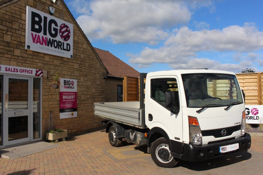 NISSAN CABSTAR 34.12 DCI 121 SWB ALLOY DROPSIDE - 6795 - 1