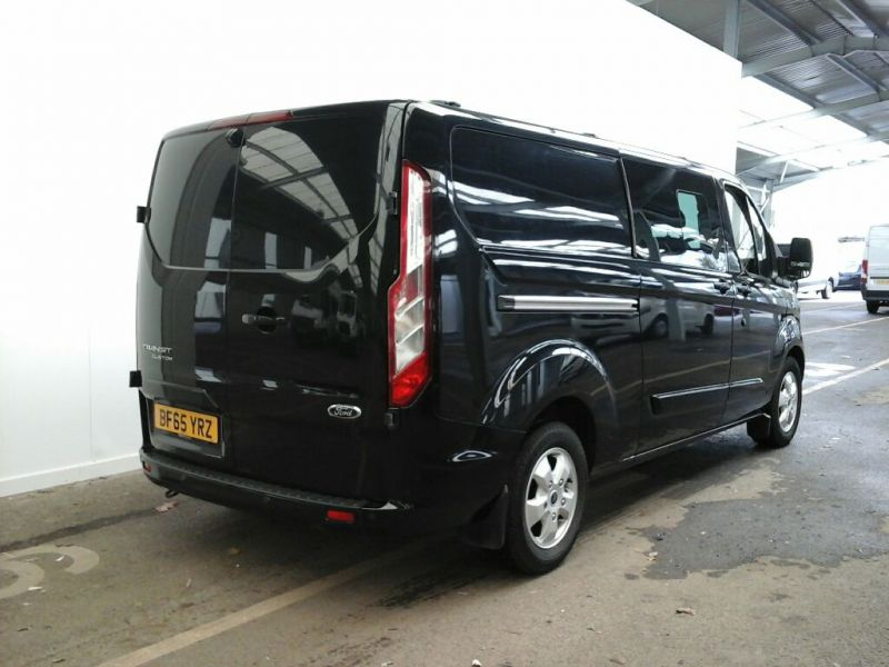 FORD TRANSIT CUSTOM 290 TDCI 155 L2H1 LIMITED DOUBLE CAB 6 SEAT CREW VAN LWB LOW ROOF FWD - 9470 - 2