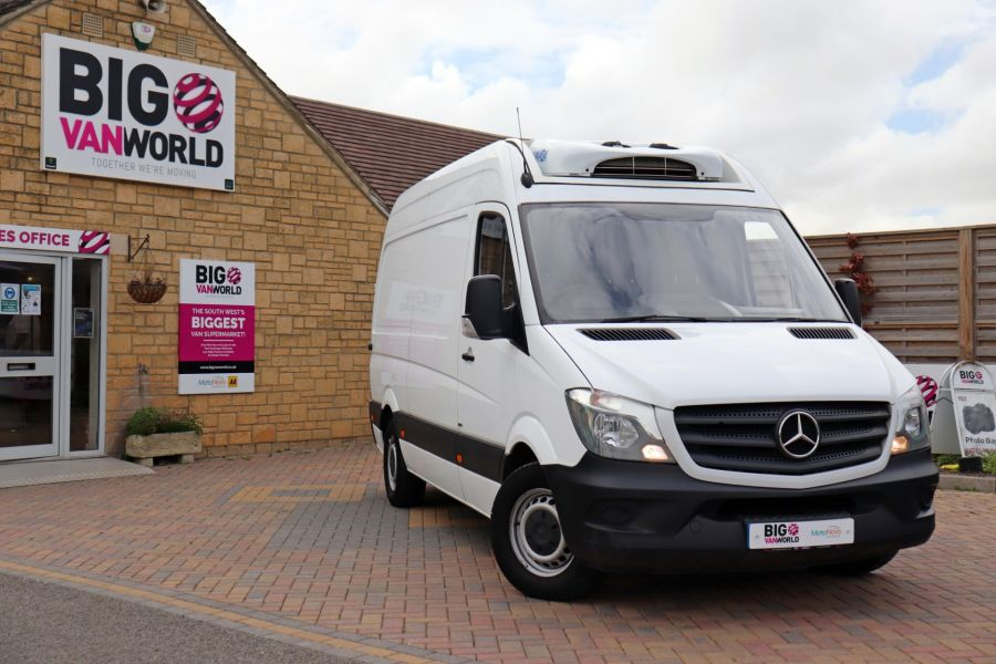 MERCEDES SPRINTER 314 CDI 140 MWB HIGH ROOF FRIDGE/FREEZER VAN - 11283 - 1