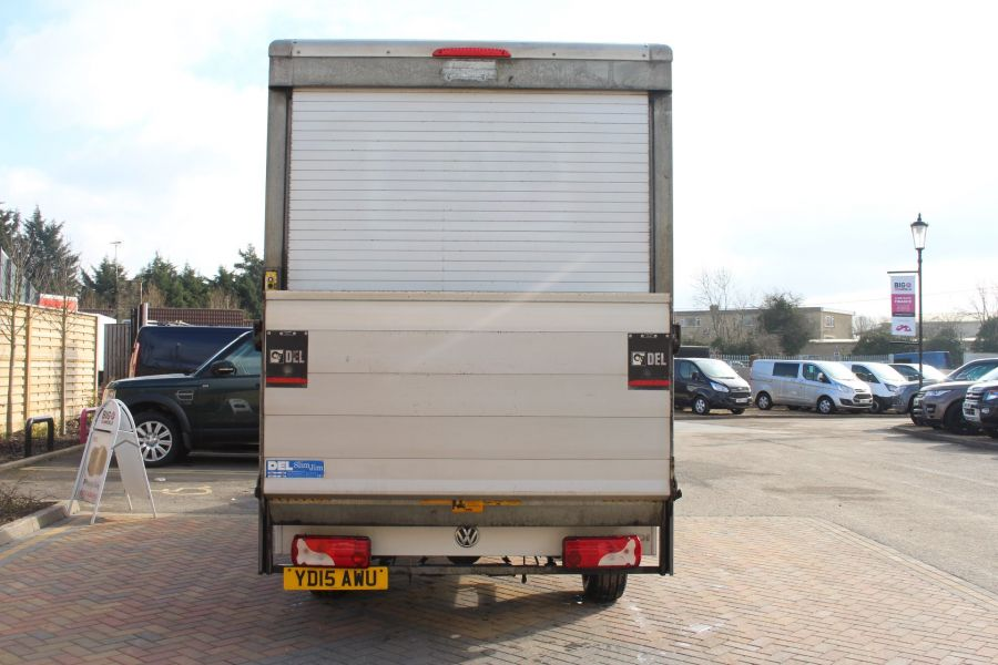 VOLKSWAGEN CRAFTER CR35 TDI 109LUTON WITH TAIL LIFT - 7362 - 5