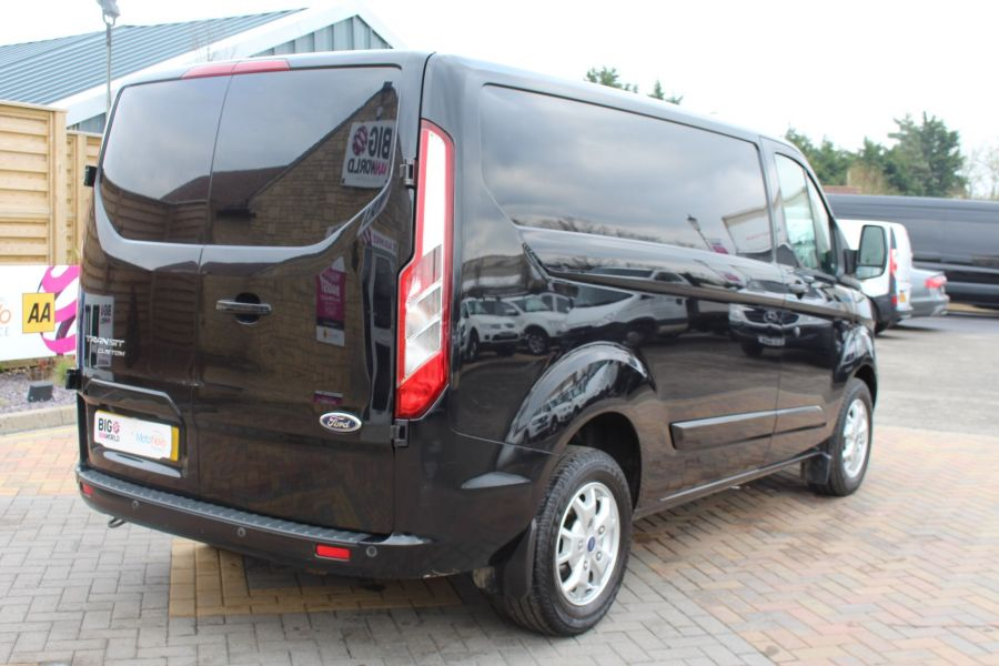 FORD TRANSIT CUSTOM 270 TDCI 155 L1 H1 LIMITED SWB LOW ROOF FWD - 7564 - 5