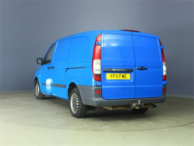 MERCEDES VITO 116 CDI 163 LWB LOW ROOF - 6623 - 4
