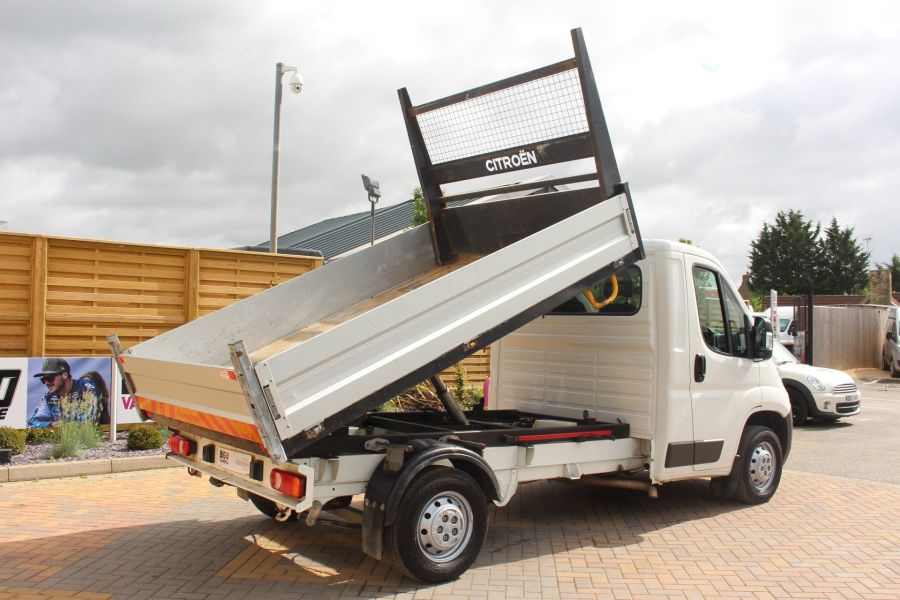 CITROEN RELAY 35 HDI 130 MWB L2 SINGLE CAB ALLOY TIPPER - 6202 - 5