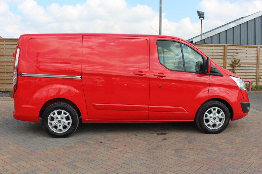 FORD TRANSIT CUSTOM 290 TDCI 125 L1 H1 LIMITED SWB LOW ROOF FWD - 9115 - 4