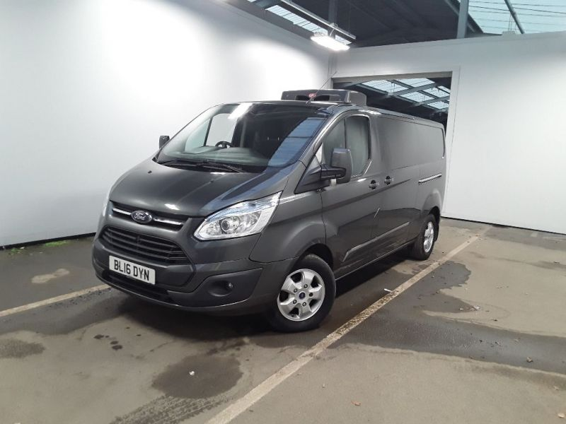 FORD TRANSIT CUSTOM 290 TDCI 125 L2H1 LIMITED FRIDGE VAN LWB LOW ROOF FWD - 11765 - 1