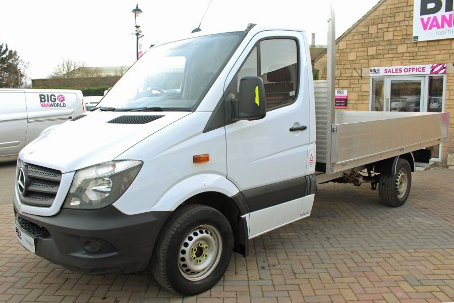 MERCEDES SPRINTER 313 CDI 129 MWB SINGLE CAB NEW BUILD ALLOY DROPSIDE - 9678 - 8