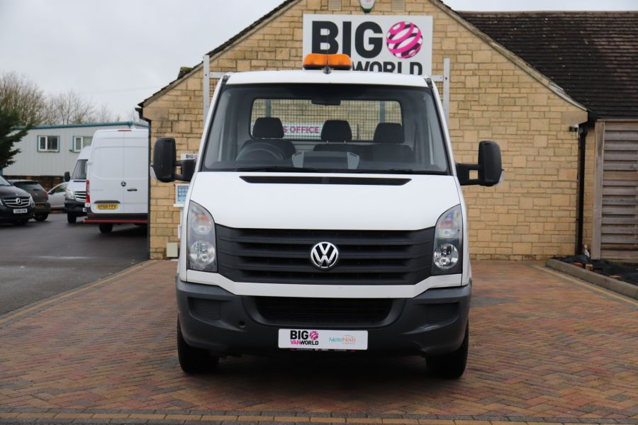 VOLKSWAGEN CRAFTER CR35 TDI 140 BMT LWB SINGLE CAB ALLOY DROPSIDE - 12073 - 11