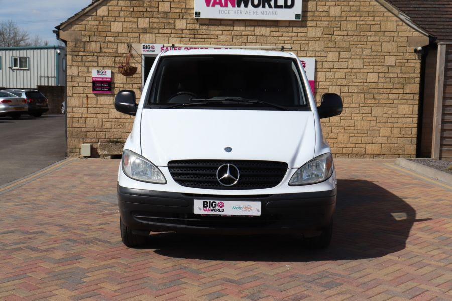 MERCEDES VITO 109 CDI 95 COMPACT SWB LOW ROOF - 10639 - 11