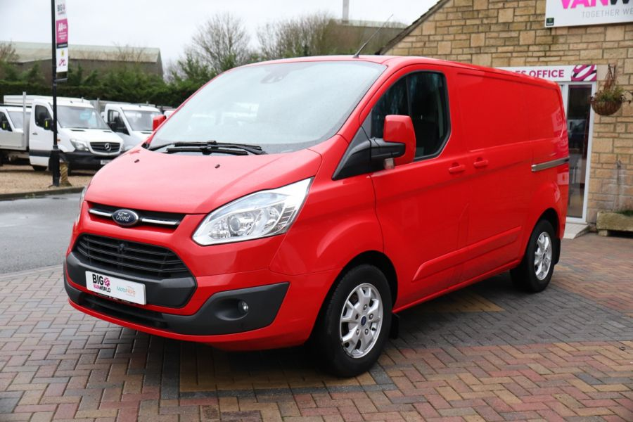 FORD TRANSIT CUSTOM 290 TDCI 125 L1H1 LIMITED SWB LOW ROOF FWD - 12045 - 12