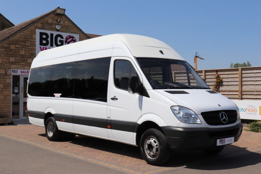 MERCEDES SPRINTER 513 CDI 129 XLWB EXTRA HIGH ROOF 15 SEAT BUS WITH WHEELCHAIR ACCESS - 9801 - 3