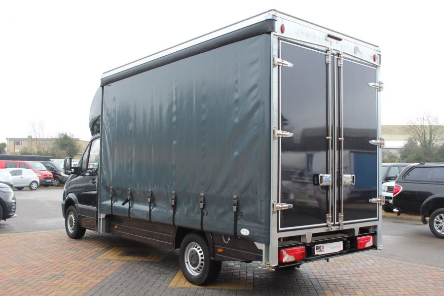 MERCEDES SPRINTER 313 CDI LWB 14FT CURTAIN SIDE BOX - 5627 - 6