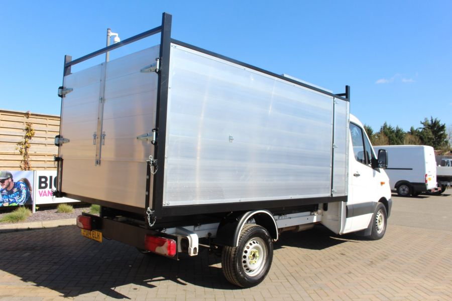 MERCEDES SPRINTER 313 CDI 129 MWB SINGLE CAB NEW BUILD ARBORIST ALLOY TIPPER - 9307 - 14