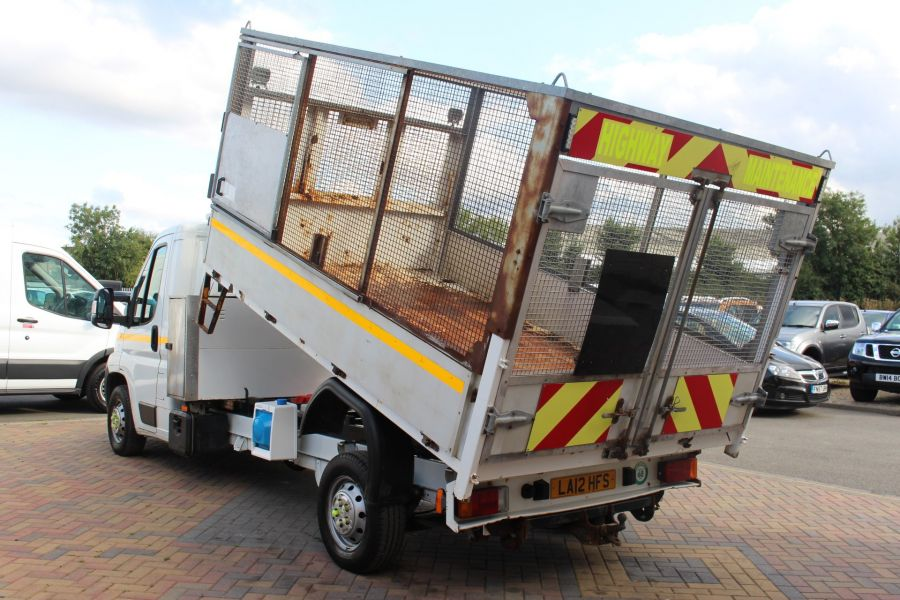 CITROEN RELAY 35 HDI 130 L3 LWB ALLOY TIPPER WITH CAGED - 8122 - 6