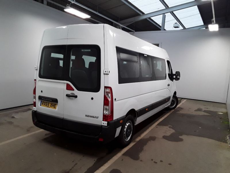 RENAULT MASTER LM39 DCI 150 BUSINESS LWB 17 SEAT BUS MEDIUM ROOF WITH OVERHEAD STORAGE - 11707 - 3