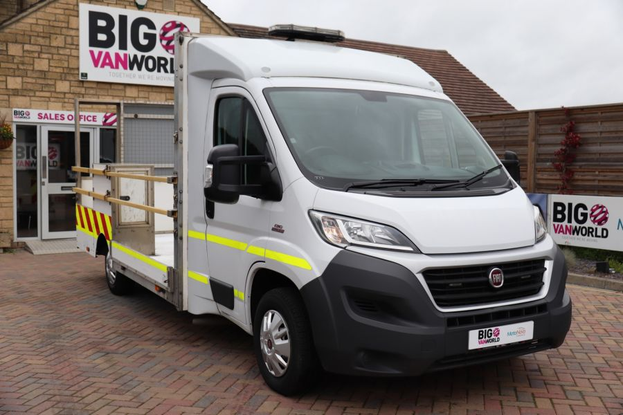 FIAT DUCATO 35 MULTIJET130 SINGLE CAB TRAFFIC MANAGEMENT - 10262 - 3