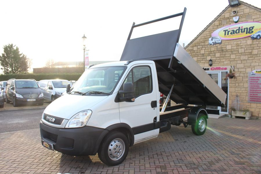 IVECO DAILY 35S11 MWB SINGLE CAB 11FT 6IN ALLOY TIPPER - 5178 - 5