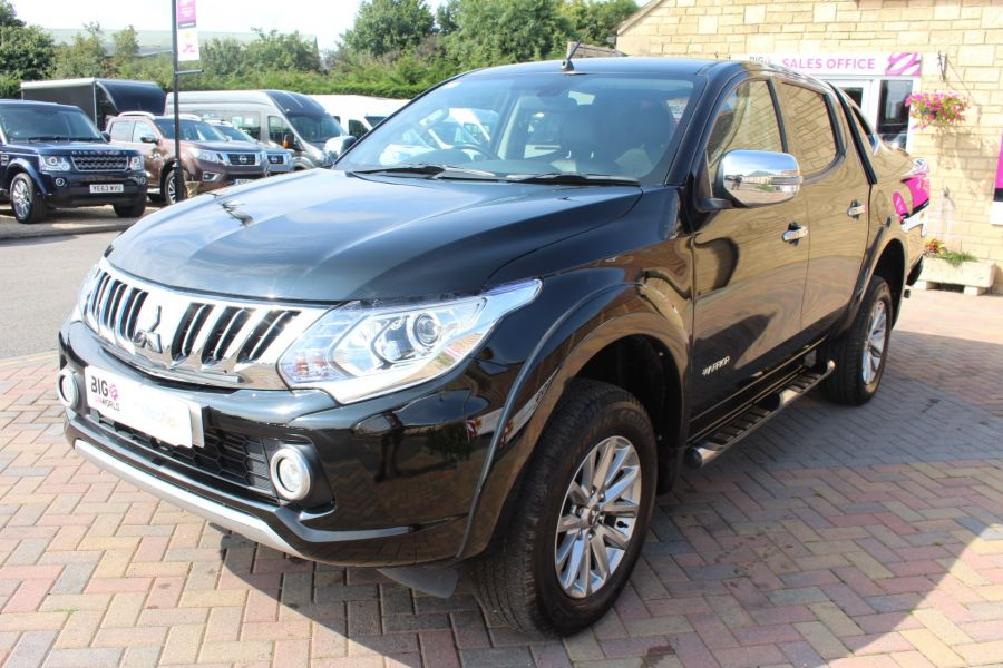 MITSUBISHI L200 DI-D 178 4WD WARRIOR DOUBLE CAB WITH MOUNTAIN TOP - 6974 - 8
