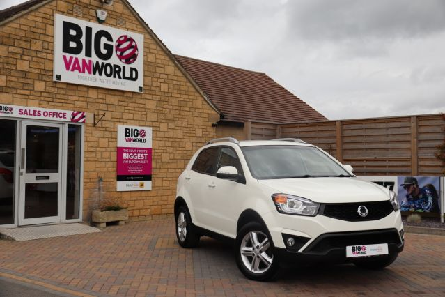 Used SSANGYONG KORANDO in Used Cars Swindon for sale
