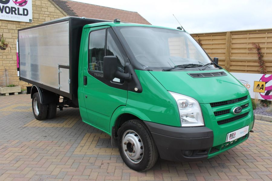 FORD TRANSIT 350 TDCI MWB SINGLE CAB NEW ALLOY ARBORIST TIPPER - 6565 - 12