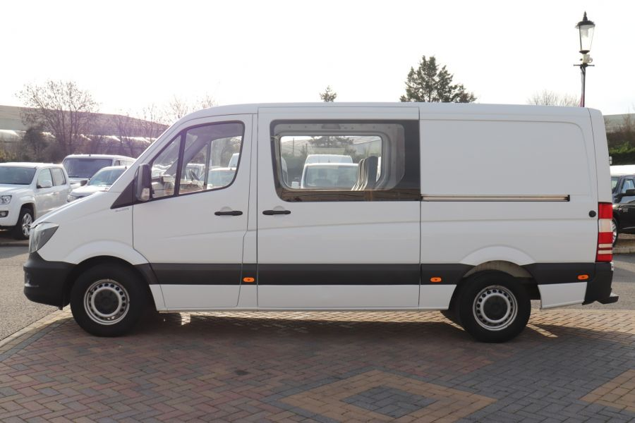 MERCEDES SPRINTER 313 CDI 129 MWB DOUBLE CAB 6 SEAT CREW VAN LOW ROOF - 11824 - 9