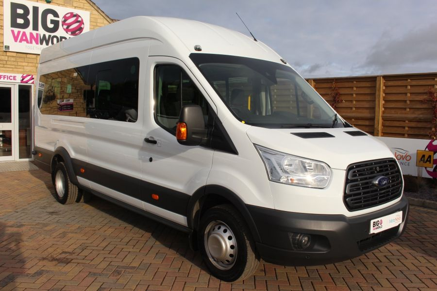 FORD TRANSIT 460 TDCI 125 L4 H3 TREND LWB HIGH ROOF 17 SEATS BUS - 6718 - 3